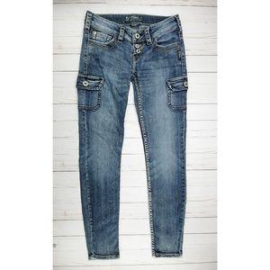 Silver Jeans | November Cargo Skinny Jeans